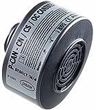 Polizei Filter CN CS Reizgas, Tränengas und Pfefferspray Spezial Schutzfilter für Halb- oder Vollmaske (Tear Gas Protection Police Filter Canister P-CAN)