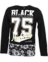 Rivaldi black - Maladu black ml tee - Tee shirt manches longues
