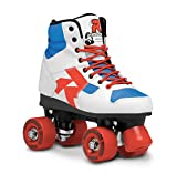 Roces Damen Rollerskates Disco Palace, White-Blue-Red, 35, 550039-004