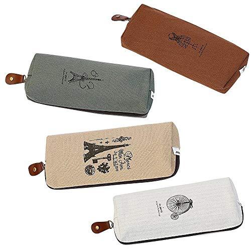 Zufriedenstellendes Produkt Federmäppchen Make-up Tasche Student Schreibwaren Tasche Office Storage Organizer Coin Pouch Kosmetiktasche Set Von 4 - Coin Organizer