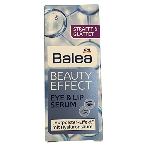 Balea Beauty Effect Eye & Lip Serum, 15 ml