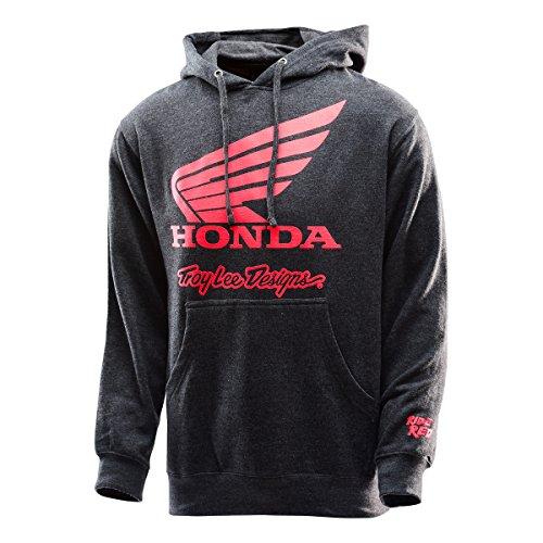 Preisvergleich Produktbild Troy Lee Designs Hoody Honda Wing Grau Gr. L