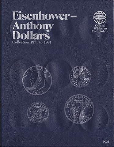UPC 9 780307 09023 EISENHOWER ANTHONY DOLLAR 1971-1981 Whitman 9023 ALBUM #17 by WHITMAN
