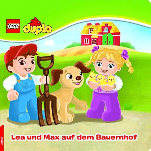 Preisvergleich Produktbild LEGO® DUPLO®. Lea und Max auf dem Bauernhof: Papp-Bilderbuch