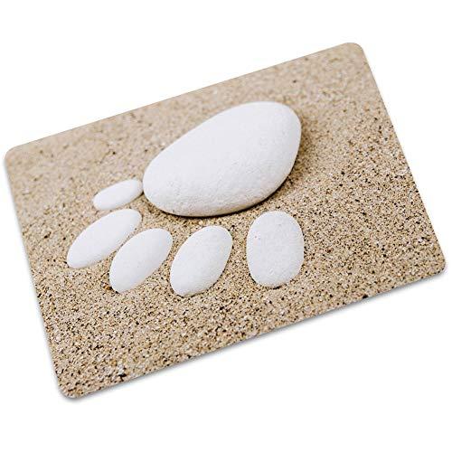 1Sconto Teppichmatten Küche Bad Wasserabsorbierende rutschfeste Fußmatten Ziegelstein Hauptdekoration Anti Milben Materialien Können Verschiedene Designs In Der Maschine Gew