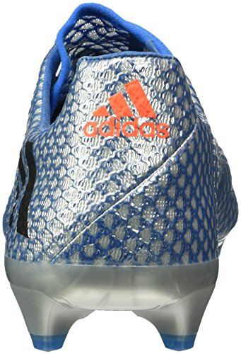 adidas Messi 16.1 Fg, Chaussures de Foot Homme Argent - Plateado (Plamet / Negbas / Azuimp)