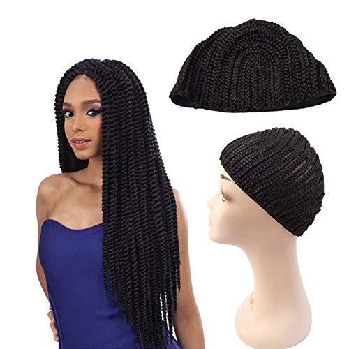 Hat, Dome Style Perücke Kappe Ultra Stretch Black Dome Cap Elastische Haarnetz Perücke Kappen für Männer Frauen ()