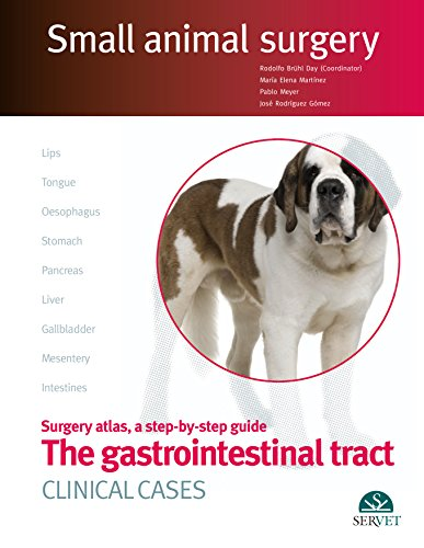 Gastrointestinal surgery in small animals. Clinical cases (Small animal surgery) - Veterinary books - Editorial Servet