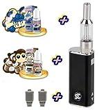 Premium Geschenkset iStick Starterset E-Zigarette I Stick Elektro Zigarette Komplettset SC mit Edel-Sorten Liquid von American Stars ohne Nikotin 00mg
