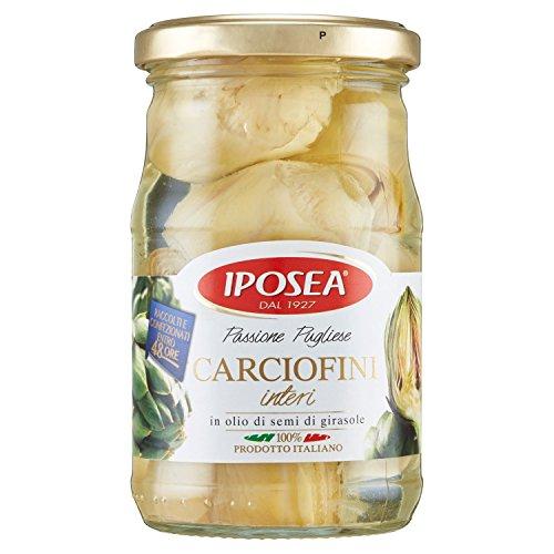 Iposea carciofini interi in olio di semi di girasole - 290 gr