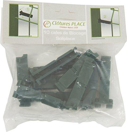 Clotures Place Cales de Blocage, 3239245970183, Noir, 12x12x1 cm, , CALEBLOCAGE