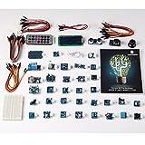 SunFounder Ultimate Mega 2560 Sensor Kit V2.0 for Arduino UNO R3 Mega2560 Mega328 Nano - Including 98 Page Instructions Book von SunFounder