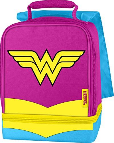 Thermos Dual Kit Mittagessen Kit, Wonder Woman mit Cape