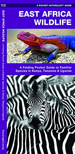 East Africa Wildlife: A Folding Pocket Guide to Familiar Species in Kenya, Tanzania & Uganda (Pocket Naturalist Guide)