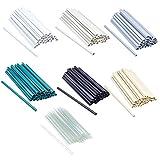 ESTEXO 30 Stück Befestigungsclips für PVC Sichtschutz-Streifen, Clip, Sichtschutz, Befestigung (Weiß)