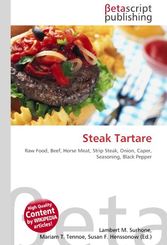 Steak Tartare por Lambert M Surhone