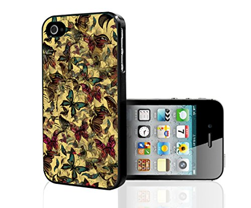 3D Colorful Butterfly Hard Snap on Phone Case (iPhone 5/5s)