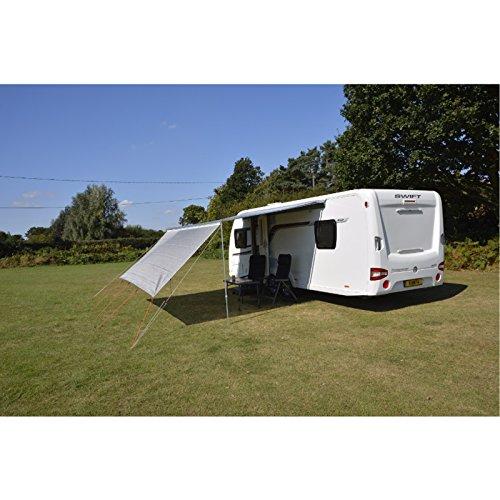 Sonnenschutz 240 cm Breit für Gängige Markisen 4mm und 6mm Keder integriert • Sonnensegel Vorzelt Wohnwagen Sonnendach Windschutz Sichtschutz