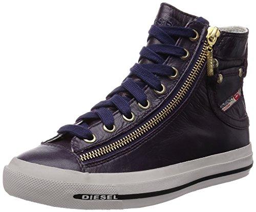 DIESEL Sneakers MAGNETE EXPO-ZIP Gr.: EUR 38 / USA 7.5 Damen Designer Schuhe Woman Shoes Lila Y01067 PRO080 T5153