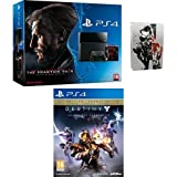Pack PlayStation 4 + Metal Gear Solid V : The Phantom Pain + Steelbook + Destiny : le roi des corrompus - édition légendaire