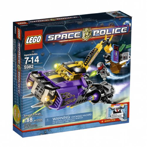 LEGO Space Police Smash 'n' Grab - Space Lego Police