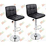 MBTC Cadbury Cafeteria / Bar Stool in Black set of 2