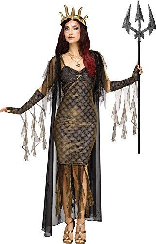 Königin Des Meeres Kostüm - Königin der Meere Poseidon Damen-Kostüm Mythologie