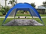 ZXCVBW Pesca Picnic Beach Tenda da Viaggio Pieghevole Tenda da Campeggio con Borsa Protezione UV Tenda da Spiaggia/Estate Tenda da Spiaggia Include Tappetino