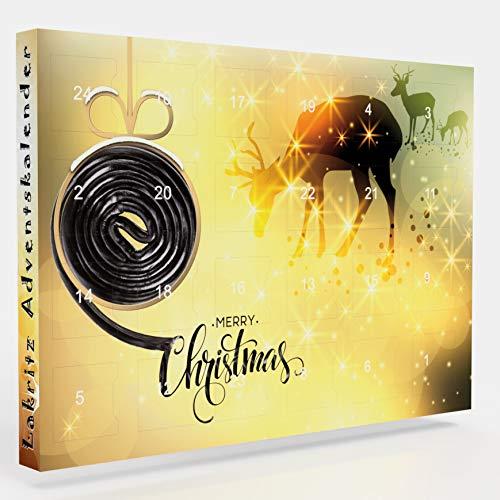 C&T Lakritz - Adventskalender - 24 leckere Knabbereien für den Advent mit 24 Mischungen, salzig und...