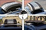 Carpriss (79051165) faltbare Dachbox inkl. Tragegriff- schwarz grau