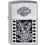 Zippo Briquet #207 Harley-Davidson V-Twin Plug