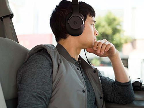 Logitech G433 Kabelgebundene Gaming Kopfhörer (7.1 Surround Sound, für PC, Xbox One, PS4, Switch, Mobiltelefon) schwarz - 13