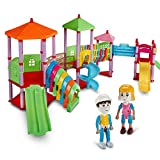 Chocozone Amusement Park Building Blocks Theme Park Blocks Toys for 3 Years Old