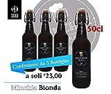 Birra Minchia Bionda Premium 50cl ( kit da 3 bottiglie )