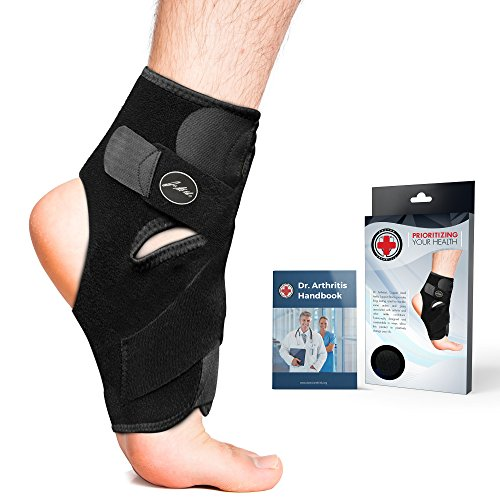 9de24f4e71 Doctor Developed Premium Copper Lined Ankle Support Brace [Single] AND DOCTOR  WRITTEN HANDBOOK —