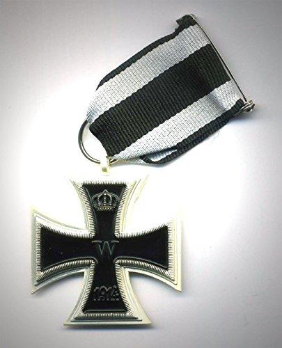 Preisvergleich Produktbild Orden WK1 Eisernes Kreuz 2.Klasse 1914 mit Band - EK2 - TOP Sammler Anfertigung