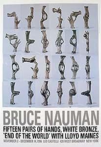 15 Paires de mains en Bruce Nauman 29 cm x 25 cm-Art Poster Print