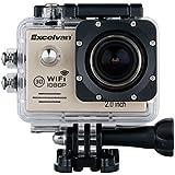 """Excelvan TC-J6 Multifonction 2.0"""" HD WIFI Camera Sport 30M Étanche Caméra Embarquée 1080p H.264 14MP 170° Anti-bougé Or"""