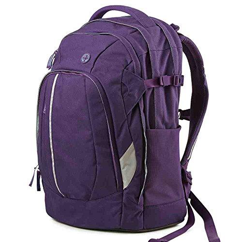 Ergobag - Zaino per la scuola, 49 cm Viola (Purple)