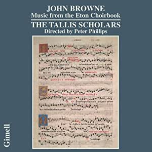 Browne - Music from the Eton Choirbook