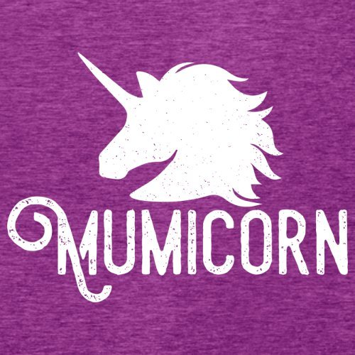Mumicorn - Damen T-Shirt - 14 Farben Beere