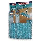 Leifheit Spar-Set 52016 2x Wischbezug Clean Twist extra XL