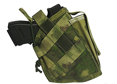 MOLLE tactical holster m.o.l.l.e pistol airsoft paintball (atacs fg) -