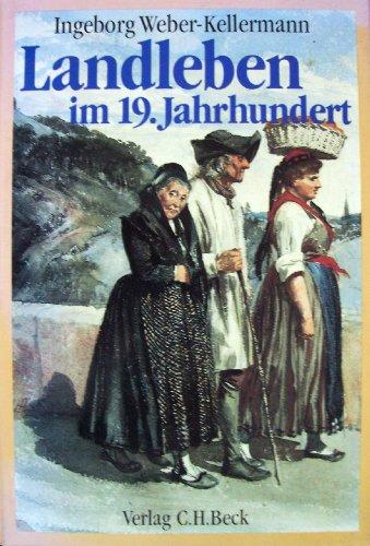 Buchseite und Rezensionen zu 'Landleben im 19. Jahrhundert' von Ingeborg Weber-Kellermann
