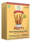 #10: Early Foods Organic Whole Wheat Ajwain Jaggery Teething Sticks - Kids Snack 150gms
