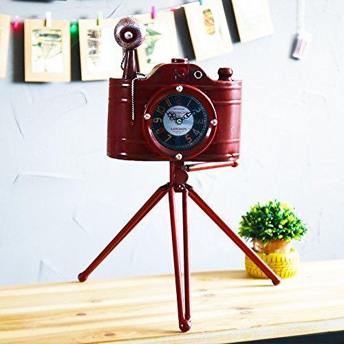 RUGAI-UE Die alten Eisen Stativ drei retro Kamera Heimtextilien Schmuck Geschenk, 22*8*49 cm (Eisen-stativ)
