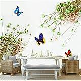 Hwhz Benutzerdefinierte Moderne Wallpaper-3D Romantische Kleine Frische Blumenstrauß Fototapete Für Kinderzimmer Tv Hintergrund Große Wandgemälde Extra Dick-120X100Cm