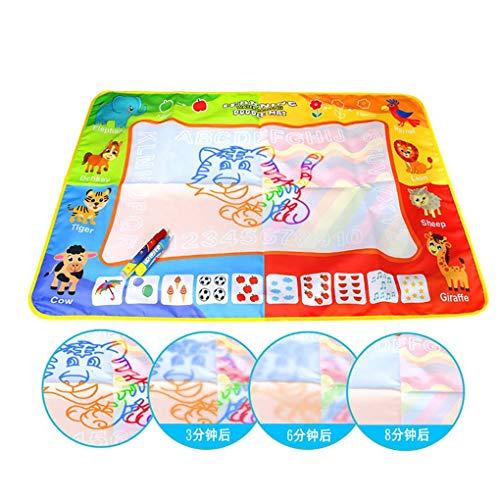 F-blue Magic Kids Eau Doodle Mat Grand Dessin Enfants Pad Peinture Apprentissage Imagination Jouets éducatifs