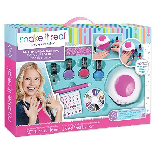 MAKE IT REAL 02502 - Glitter Dream Nail Spa, Beauty Collection