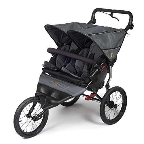 Out n About Nipper Sport v4 Double Stroller Steel Grey 51xevRxBeLL